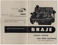 1956 Braje Catalog - Click For Inside Pages